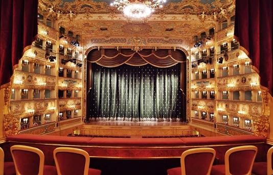 Palco en el Teatro de la Fenice, Venecia
