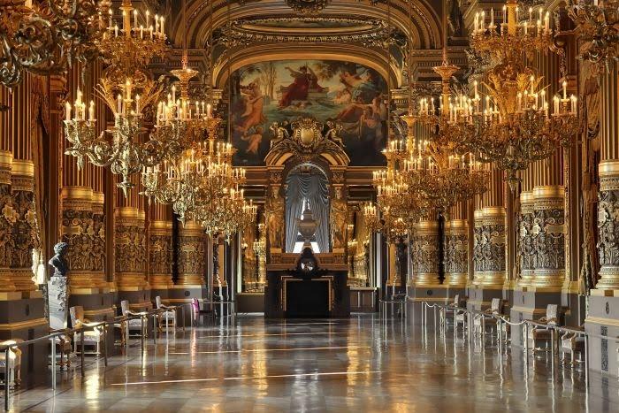 El gran Foyer de la Opera Garnier