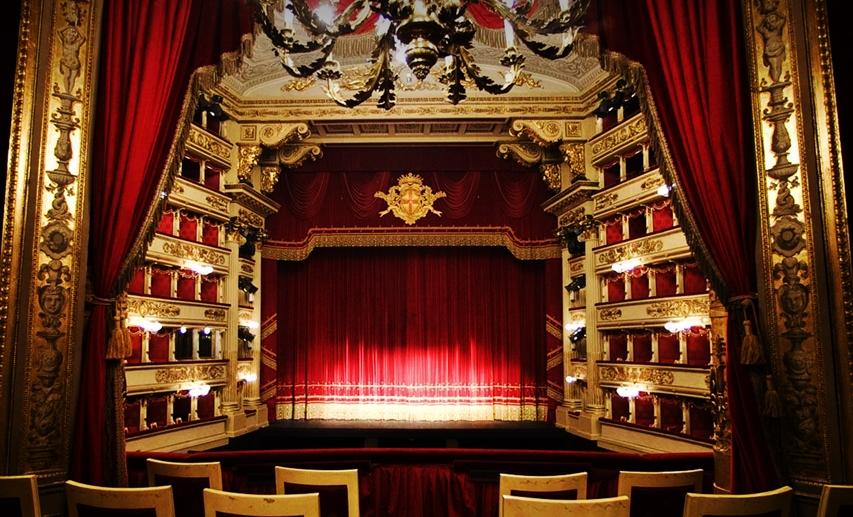 Palco en la Scala de Milán