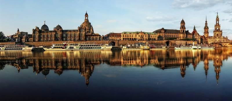 Dresden desde el Elba