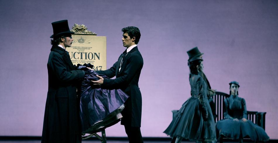 Viaje fin de año en Milán, La Dama de las Camelias en la Scala