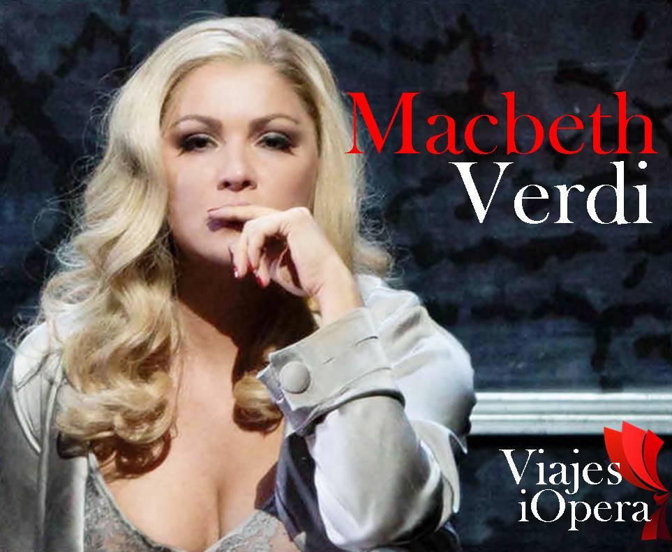 Viaje a Londres, Macbeth de Giuseppe Verdi con Anna Netrebko y Pappano