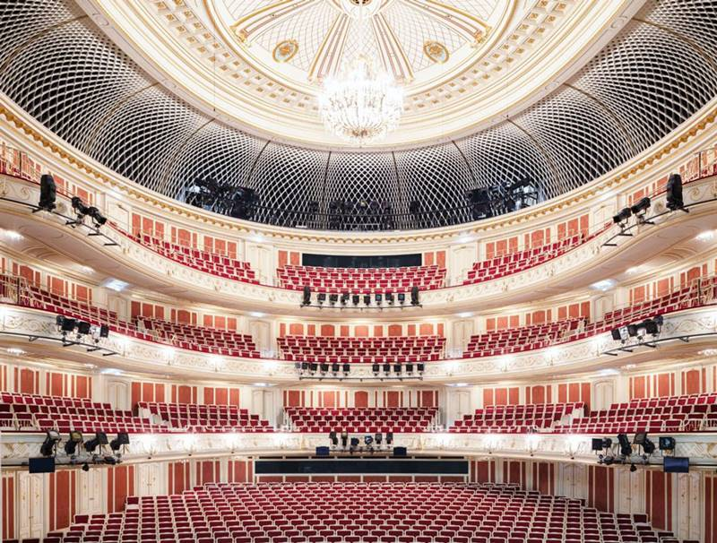 Staatsoper unter den Linden sala Viaje a Berlín , Macbeth de Giuseppe Verdi con Netrebko, Domingo y Barenboim