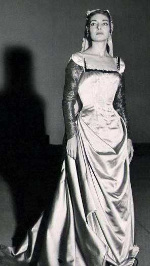 Maria Callas Viaje Scala Milán para ver Il pirata de Bellini