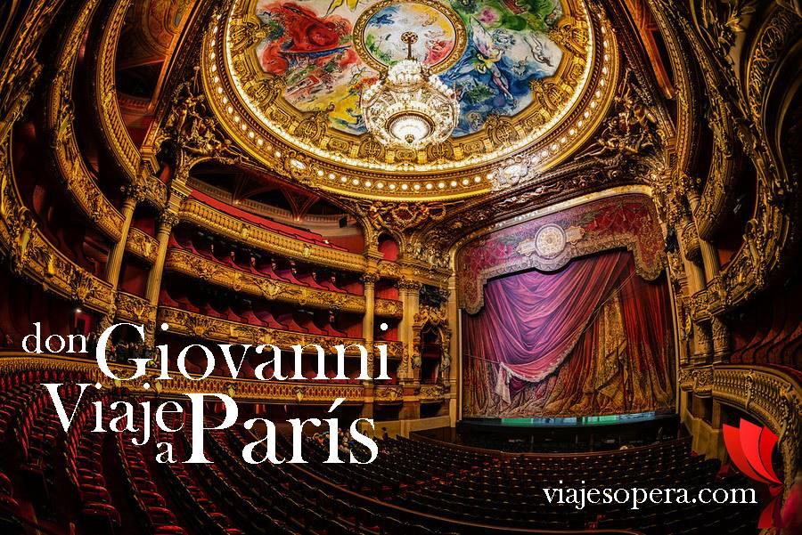 Don Giovanni en la Ópera Garnier, Viaje del 21 al 23 de junio de 2019