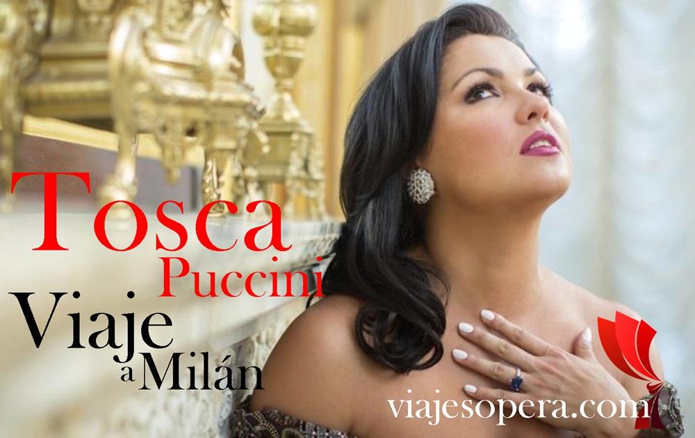 Viaje Scala Milán Tosca con Anna Netrebko