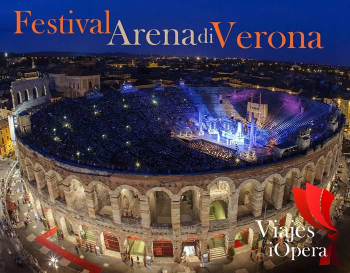 Festival Arena de Verona viajes